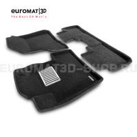 Текстильные 3D коврики Euromat3D Lux в салон для Honda CR-V (2006-2012) № EM3D-002606