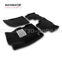 Текстильные 3D коврики Euromat3D Lux в салон для Opel Antara (2007-2016) № EM3D-003816