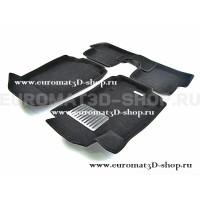 Текстильные 3D коврики Euromat3D Lux в салон для Chevrolet Cobalt (2012-) № EM3D-001501