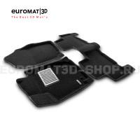 Текстильные 3D коврики Euromat3D Lux в салон для Toyota Rav 4 (2006-2013) № EM3D-005126