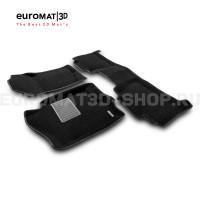 Текстильные 3D коврики Euromat3D Business в салон для Chevrolet Tahoe (2007-2014) № EMC3D-001302