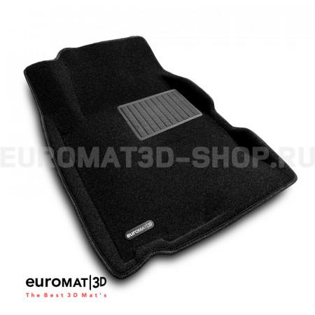 Текстильные 3D коврики Euromat3D Business в салон для Chevrolet Captiva (2006-2014) № EMC3D-001503