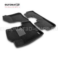 Текстильные 3D коврики Euromat3D Business в салон для Honda CR-V (2006-2012) № EMC3D-002606
