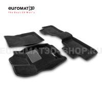 Текстильные 3D коврики Euromat3D Business в салон для Jeep Grand Cherokee (2010-) № EMC3D-002760
