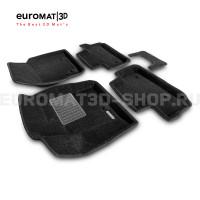 Текстильные 3D коврики Euromat3D Business в салон для Land Rover Freelander II (2006-2014) № EMC3D-003101