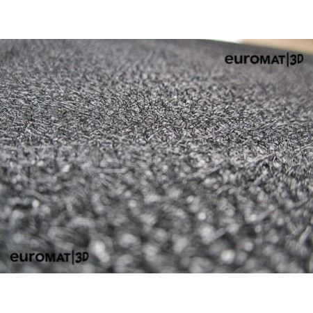 Текстильные 3D коврики Euromat3D Business в салон для Chevrolet Captiva (2006-2014) № EMC3D-001503G Серые