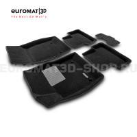 Текстильные 3D коврики Euromat3D Business в салон для Opel Astra J № EMC3D-001504