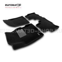Текстильные 3D коврики Euromat3D Business в салон для Opel Antara (2007-2016) № EMC3D-003816