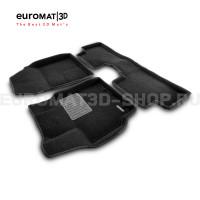 Текстильные 3D коврики Euromat3D Business в салон для Toyota Corolla (2007-2012) № EMC3D-005107