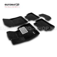 Текстильные 3D коврики Euromat3D Lux в салон для Bmw X3 (F25) (2010-2017) № EM3D-001210