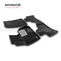 Текстильные 3D коврики Euromat3D Lux в салон для Bmw X5 (E53) (2000-2006) № EM3D-001211