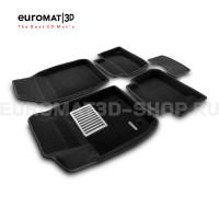 Текстильные 3D коврики Euromat3D Lux в салон для Ford Ecosport (2014-) № EM3D-002215