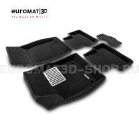Текстильные 3D коврики Euromat3D Lux в салон для Chevrolet Cruze (2009-) № EM3D-001504