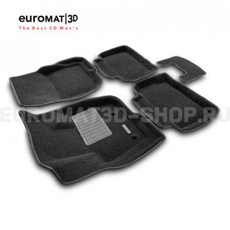 Текстильные 3D коврики Euromat3D Business в салон для Ford Mondeo (2015-) № EMC3D-002216