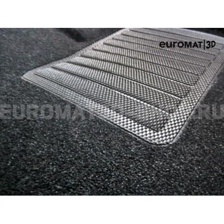 Текстильные 3D коврики Euromat3D Business в салон для Chrysler 300C (2004-2014) № EMC3D-004000