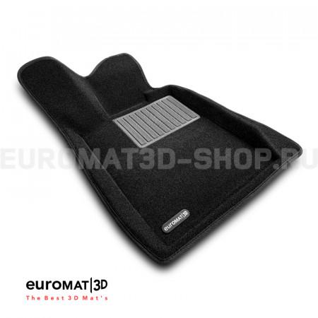 Текстильные 3D коврики Euromat3D Business в салон для Bmw 3 GT (F34) № EMC3D-001216