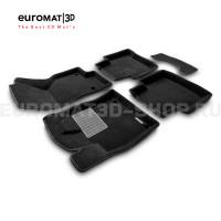 Текстильные 3D коврики Euromat3D Business в салон для Skoda Superb (2015-) № EMC3D-004510