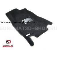 Текстильные 5D коврики с высоким бортом Euromat3D в салон для Nissan Teana (2014-) № EM5D-003718
