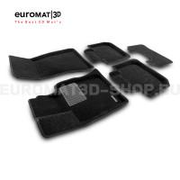 Текстильные 3D коврики Euromat3D Business в салон для Bmw 6 GT (G32) (2017-) № EMC3D-001207