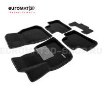 Текстильные 3D коврики Euromat3D Business в салон для Bmw X3 (G01) (2017-) № EMC3D-001222