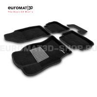 Текстильные 3D коврики Euromat3D Business в салон для Subaru XV (2017-) № EMC3D-004705