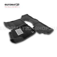 Текстильные 3D коврики Euromat3D Lux в салон для Toyota Land Cruiser Prado 150 (2014-) № EM3D-005120