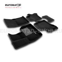 Текстильные 3D коврики Euromat3D Business в салон для Mercedes G-Class (W463) (2018-) № EMC3D-003502