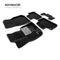 Текстильные 3D коврики Euromat3D Lux в салон для Bmw X4 (G02) (2018-) № EM3D-001222
