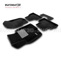 Текстильные 3D коврики Euromat3D Premium в салон для Infiniti FX,QX70 (2008-2014/2015-) № EMPR3D-002802