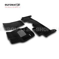Текстильные 3D коврики Euromat3D Premium в салон для Land Rover Range Rover Sport L494 (2014-) № EMPR3D-003109