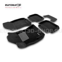 Текстильные 3D коврики Euromat3D Premium в салон для Subaru Outback (2010-) № EMPR3D-004704