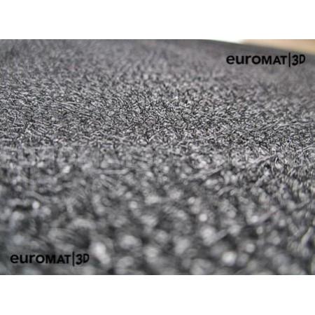 Текстильные 3D коврики Euromat3D Business в салон для Cadillac Escalade (2015-2021) № EMC3D-001306G Серые