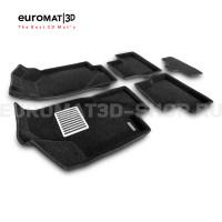 Текстильные 3D коврики Euromat3D Lux в салон для Datsun on-Do (2014-2020) № EM3D-005310