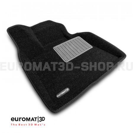 Текстильные 3D коврики Euromat3D Business в салон для Bmw X7 (G07) (2019-) (7 мест) № EMC3D-001226.1
