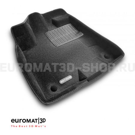 Текстильные 3D коврики Euromat3D Business в салон для Gac GS-8 325T (2020-) № EMC3D-001432