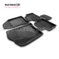 3D коврики Euromat3D EVA в салон для Lada Vesta (2015-) № EM3DEVA-005308