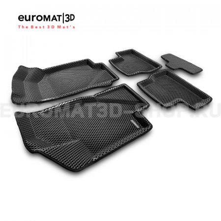 3D коврики Euromat3D EVA в салон для Lada Kalina (2004-) № EM3DEVA-005310