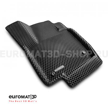 3D коврики Euromat3D EVA в салон для Skoda Rapid (2014-2019) № EM3DEVA-004508