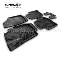 3D коврики Euromat3D EVA в салон для Skoda Rapid (2020-) № EM3DEVA-004508
