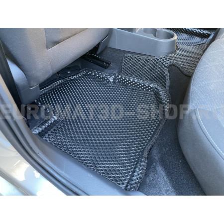 3D коврики Euromat3D EVA в салон для Volkswagen Polo (2020-) № EM3DEVA-004508