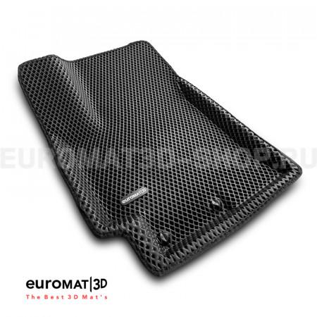 3D коврики Euromat3D EVA в салон для Hyundai Solaris (2017-) № EM3DEVA-002931