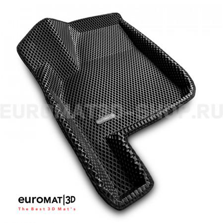 3D коврики Euromat3D EVA в салон для Lada Priora (2007-) № EM3DEVA-005307