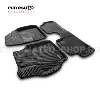 3D коврики Euromat3D EVA в салон для Toyota Corolla (2007-2012) № EM3DEVA-005107