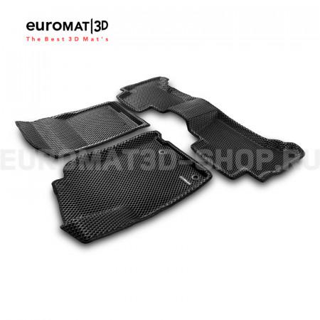 3D коврики Euromat3D EVA в салон для Toyota Land Cruiser Prado 150 (2014-) № EM3DEVA-005120
