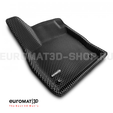 3D коврики Euromat3D EVA в салон для Skoda Karoq (2020-) № EM3DEVA-004501