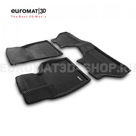 3D коврики Euromat3D EVA в салон для Bmw X5 (E70) (2008-2014) № EM3DEVA-001212