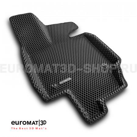 3D коврики Euromat3D EVA в салон для Toyota Rav 4 (2019-) (АКПП) № EM3DEVA-005105