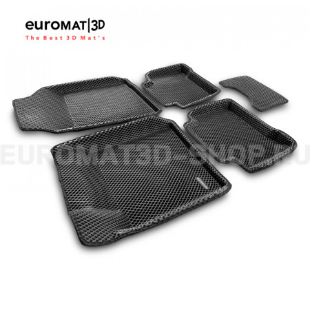 3D коврики Euromat3D EVA в салон для Nissan Teana (2008-2013) № EM3DEVA-003718