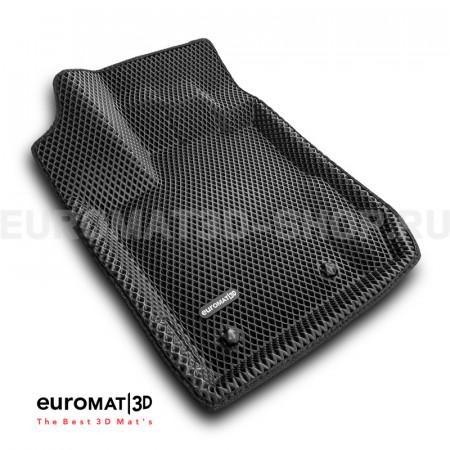 3D коврики Euromat3D EVA в салон для Renault Kaptur (2016-) № EM3DEVA-004206