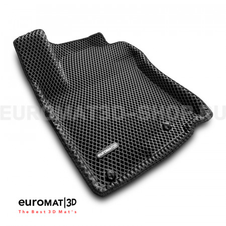 3D коврики Euromat3D EVA в салон для Toyota Land Cruiser Prado 150 (2010-2014) № EM3DEVA-005115